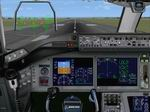 FSX                   Boeing 787 Dreamliner Panel.