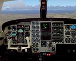 FS2004                   Piper PA-31T-620 Cheyenne II photoreal Panel,