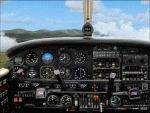 Piper PA 44 Seminole photoreal panel