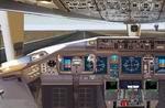 World                   Class Boeing 777 panel FS2000