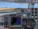 FSX 2D Panel turboprop Fokker F-50