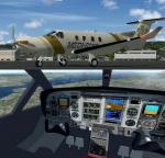 FSX/P3D Pilatus PC-12 FSX Native Pack (Fixed)