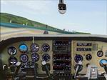 Photoreal                   Cessna 210 Centurion panel for FS2000 / CFS2 / FS 2002.