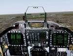 FS2000/CFS2                   Photo-Realistic FA-18 Hornet panel