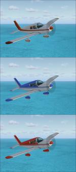 Flyable FSX Default Piper PA-28 Cherokee