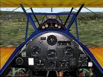 FS2004                   Stearman PT-13A panel