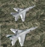 FSX/P3D North American Supersonic Ra-5C (A-5) Vigilante USN Package 2
