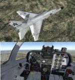 FSX/P3D North American Supersonic Ra-5C (A-5) Vigilante USN Package 2
