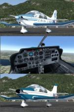 FSX/P3D Robin DR400 4 Livery Pack