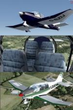 FSX/P3D Native Robin DR400 4 More Livery Pack 2
