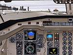 FS2000                   Saab 340 Panel