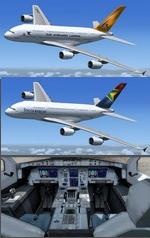 FSX/P3D Airbus A380 Multi-Pack (Updated & 3 New)