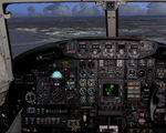 FS2004                   Rockwell- Sabreliner Photoreal Panel,