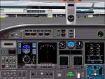 FS2000                   Alternative learjet panel,