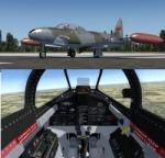 Lockheed T-33A Multiple livery Package for FSX and P3D4