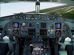 FS2000                   Fokker 100 jump seat view!