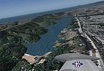 FS2004                   San Francisco Int'l Airport area (KSFO), California (CA) Scenery