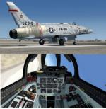 FSX/P3D North American F100D Super Sabre USAF x3 Package