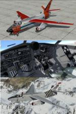 P3D/FSX Douglas A-3 Skywarrior Package with droppable bomb
