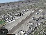 FS2004                   Santa Monica, California, High Resolution Airport Area Ground                   Scenery