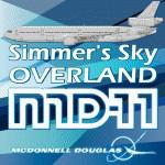 McDonnell Douglas MD-11 Native Prepar3D v4 model Paintkit