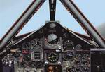 "Lockheed                   SR71 ""Blackbird"" panel with default FS2000 GPS"