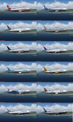 SkySpirit2010 Boeing 767-200 MultiPack for P3Dv4/5 and FSX