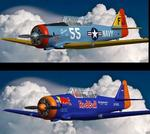 FSDS T-6 Texan Twin package