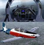 FSX/P3D Raytheon/Beechcraft T-6 Texan II  US Military Pack 2