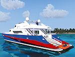 FSX Sirocco GTX V.2 Motor Yacht Package