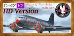 Douglas C-47 Skytrain V2 HD Textures