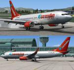 Boeing 737-8K2 Corendon New Livery Package