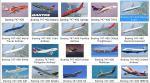 FSX Default Boeing 747-400 14 Textures pack