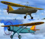 FSX twin package of the Douglas O-43 and O-46