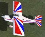 FSX/FS2004 Bellanca Decathlon Red White and Blue Textures