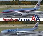 American Airlines A330-200 Textures