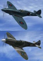 FSX RealAir Supermarine Spitfire MkIX & XIV Textures