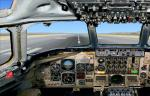 FSX DC 8-62 with new panels