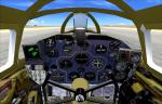 FSX P-61 Black Widow with new panels