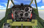 FSX Douglas Dauntless with new panels