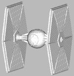 Abandoned              Tie Fighter (.3ds) Project