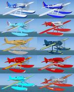 Racing floatplanes from the Virtual Schneider Project updated for FSX
