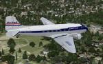 FSX/FS2004 United DC-3 Cargoliner textures