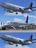 Boeing 737NG 700, 800 and 900 UAL Package