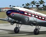 FS2004                   Union Of Burma Airways Douglas DC-3 default textures.