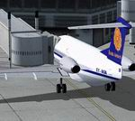 FSX                  Myanma Airways Fokker F28-4000 Jetway Update