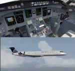 FSX/P3D>v4 Bombardier CRJ-700 United Express 3 livery package