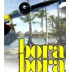 FS2002:                   Motu Mute Airport, and seaport, Bora Bora, French Polynesia