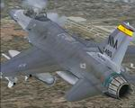 FS2004                   Lockheed Martin F-16 Falcon 150FW, New Mexico ANG