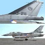 FS2004                   2-Seater Gmax F-16 Viper